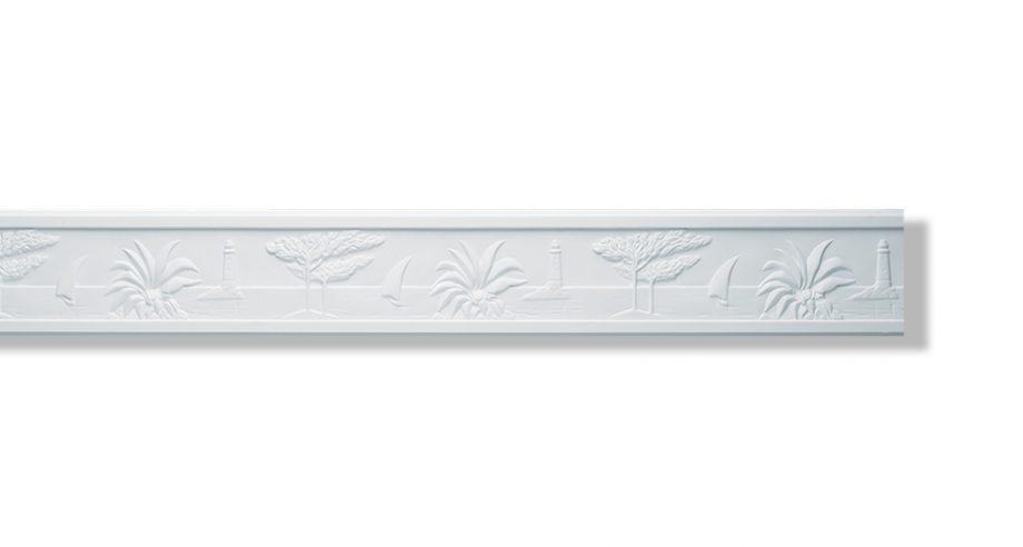 moulure murale ou de plafond bord de mer