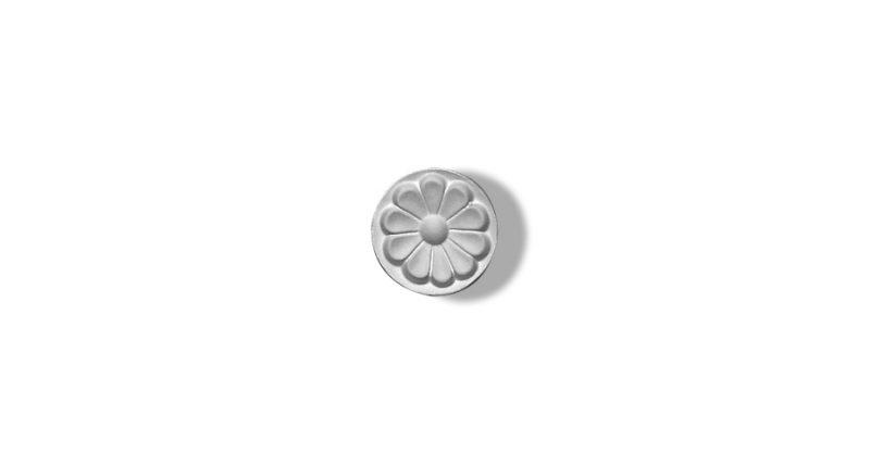 rosette circulaire en staff
