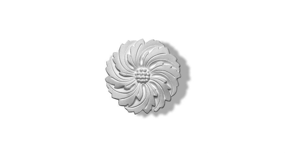 1406 rosace petite taille rosette plafond rosette plâtre