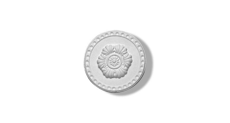 1412 rosette circulaire rosette en plâtre rosette plafond