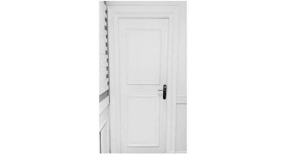 930.63 habillage de porte en staff collection Staff Decor