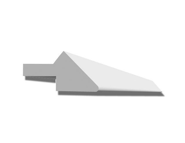Profil de finition en staff pour les faux plafond