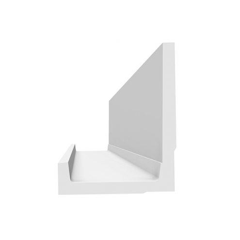 Corniche a eclairage indirect D114M lumineuse finition ideale pour faux plafond