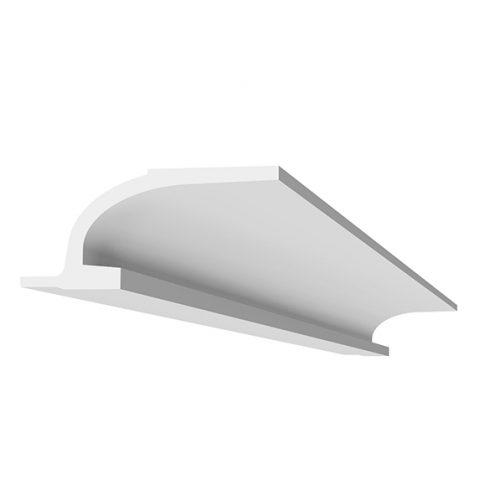 corniche à éclairage indirect-d117- corniche plafond-corniche en staff