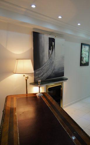 corniche classique en staff-d545-corniche plafond-corniche plâtre
