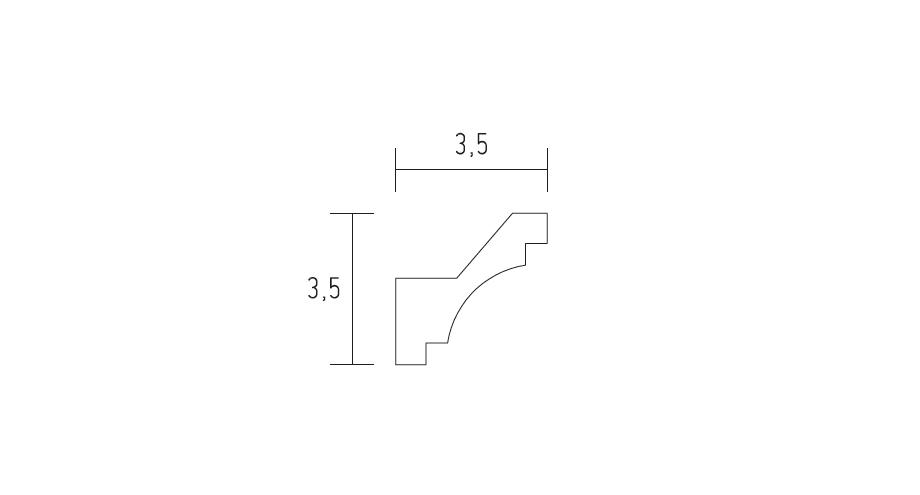D555-corniche-contemporaine-staffdécor--corniche plafond-corniche plâtre