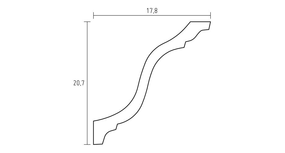 D609-corniche-classique-staffdecor