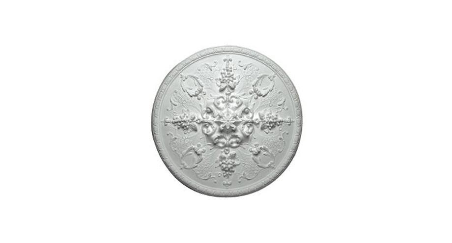 m403-rosace de plafond-rosace plâtre ornementée
