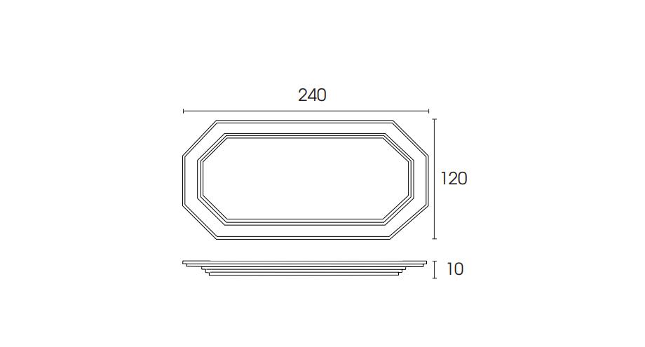 plafonnier PLD567-schéma-plafond-lustre