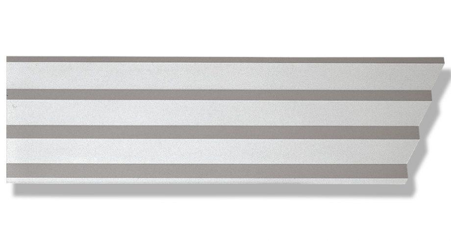 Corniche contemporaine en staff-d564-corniche plafond-corniche plâtre