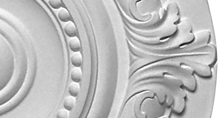 detail m072 rosace gamme Staff Decor a coller sur le plafond ou le mur