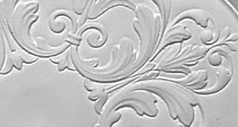 detail m213 rosace de plafond en platre gamme Staff Decor se colle au plafond