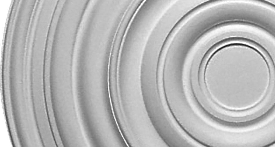 detail m253 rosace moderne circulaire qui se colle au plafond