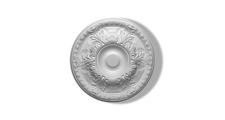 rosace circulaire en staff ornementee pour votre plafond