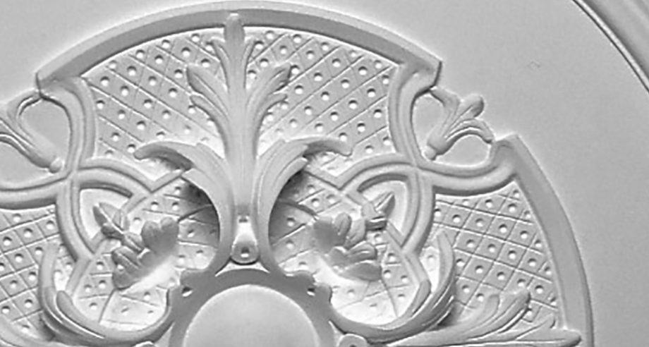 detail m300 rosace gamme Staff Decoren platre a fixer sur le plafond