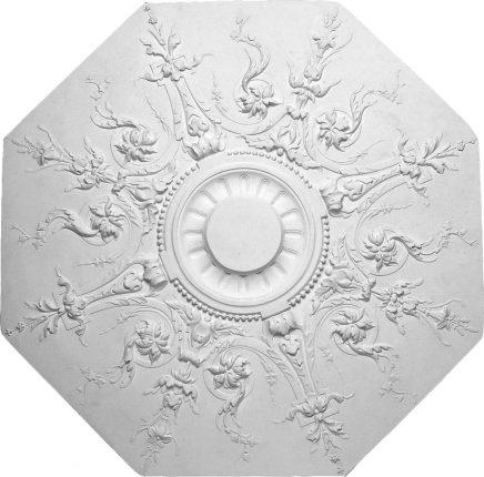 m404 rosace grande dimension en platre a coller sur tout type de plafond