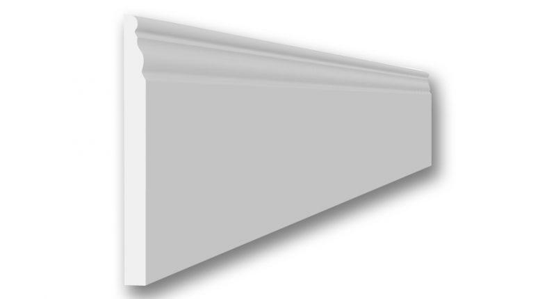 La plinthe PLIN20 en staff mouluree est classique et se colle sur votre mur. raccord facile