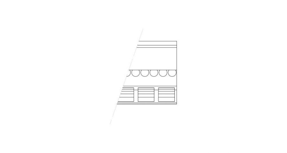 Corniche ornementee en staff-d531-corniche plafond-corniche plâtre