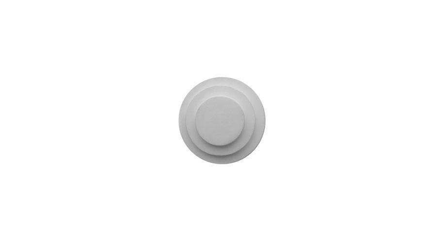 rosette circulaire reference 1416 art deco en platre se collant sur le mur ou au plafond