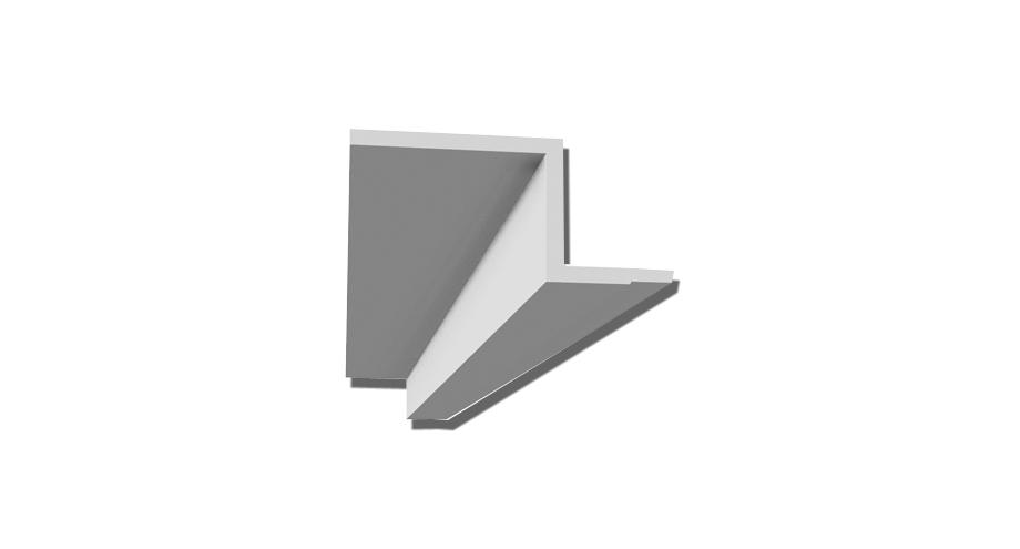Profil en staff-d118- corniche plafond-corniche en staff