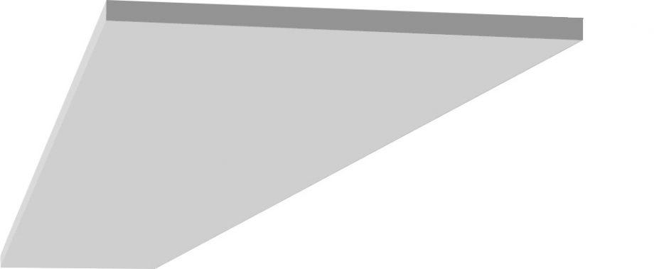 Bord propre à coller au plafond en staff pour decoration