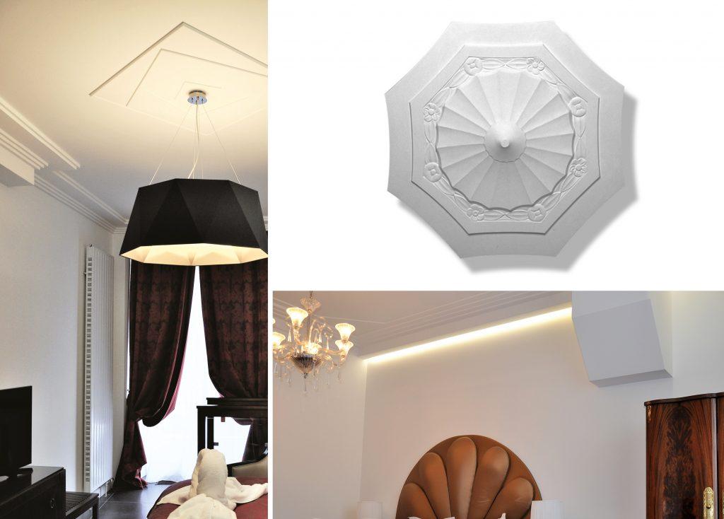 L'Art Nouveau adoube le staff en lui rendant un bel hommage à travers des rosaces aux formes géométriques ou des corniches design en escaliers.