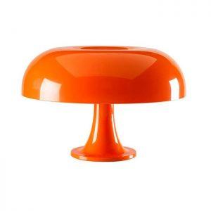 lampe nesso signee artemide en orange