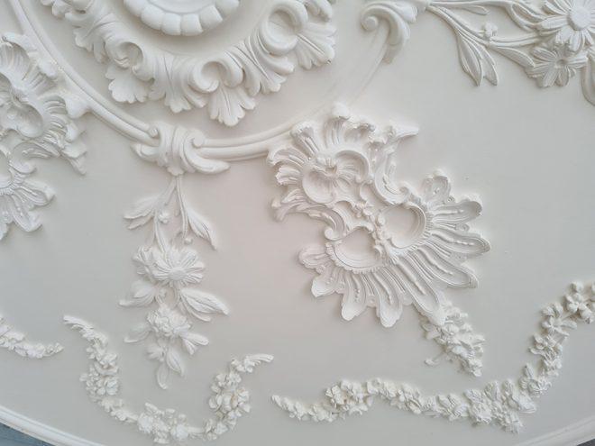 rosace a encastrer au plafond