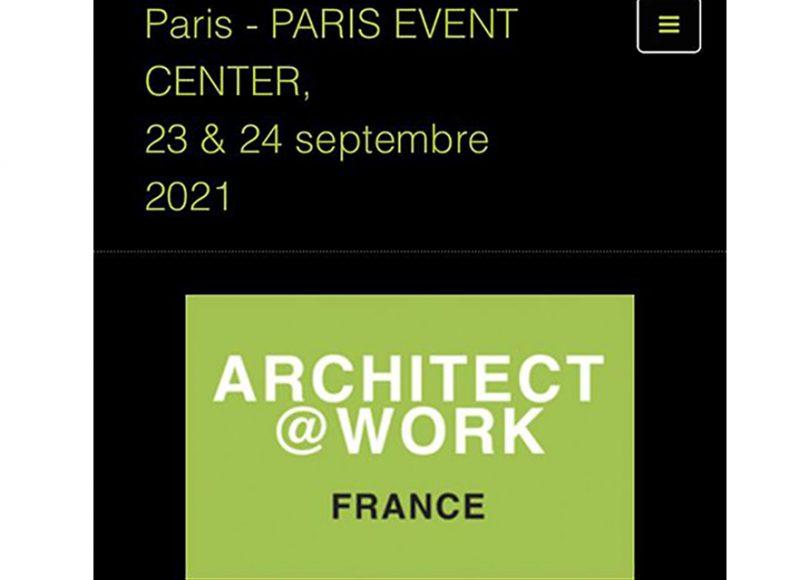 salon architect at work paris 2021